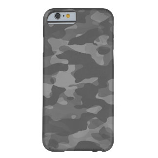 Hull iPhone 6/6s, Barely There Gray Camouflage Barely There iPhone 6 Case