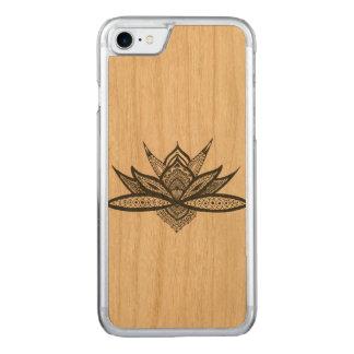 Hull iPhone 7 wood mandala Carved iPhone 8/7 Case
