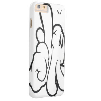 Hull iPhone mickey' S band by N.L Barely There iPhone 6 Plus Case