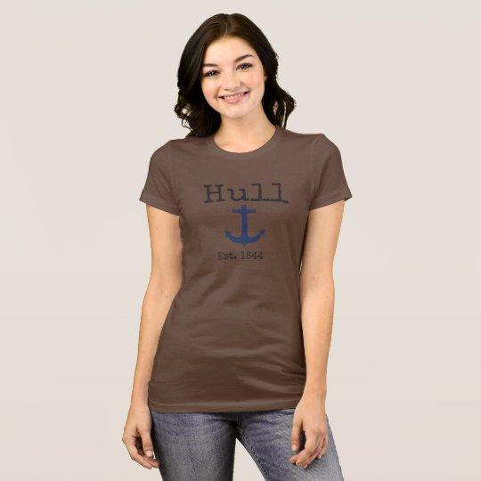 Hull Massachusetts brown shirt for women