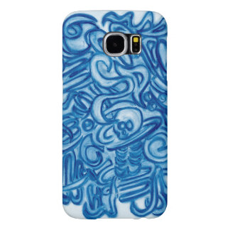 Hull of protection with original drawing samsung galaxy s6 case