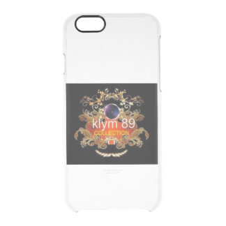 Hull telephones Klym 89 Collection Clear iPhone 6/6S Case