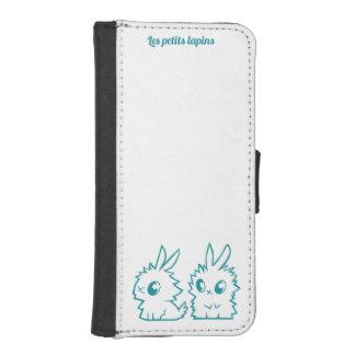 Hull with wallet small rabbits phone wallet