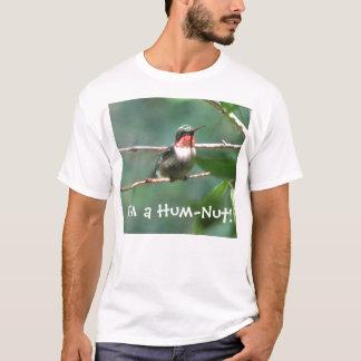 Hum-Nut Ruby-throated Hummingbird T-Shirt
