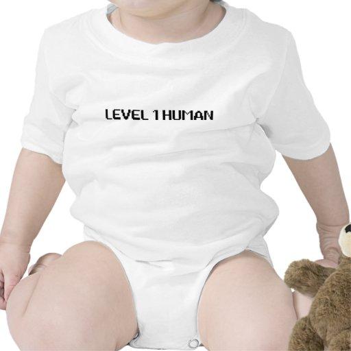Humain du niveau 1 bodies pour bébé