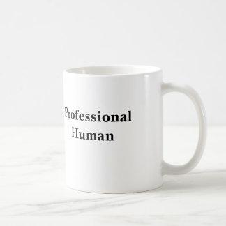Humain professionnel mug blanc
