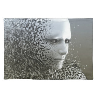 Human Abstract Art Placemat