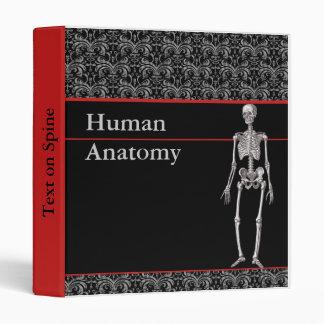 Human Anatomy Binder with Skeleton - Customizable