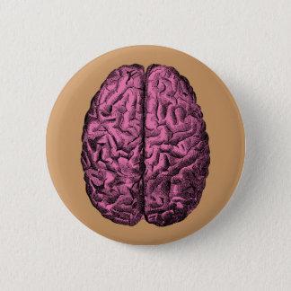 Human Anatomy Brain 2 Inch Round Button