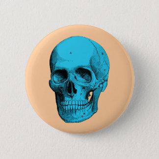 Human Anatomy Skull 2 Inch Round Button