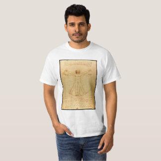 Human Anatomy, Vitruvian Man by Leonardo da Vinci T-Shirt