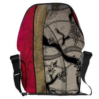 Human Art Messenger Bag