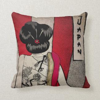 Human Art Throw Pillows