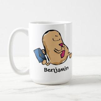 Human Bean Off To Work Coffee Mug