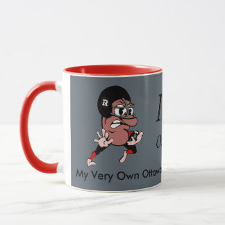 Human Bean Ottawa Redblacks 2016 Grey Cup Mug