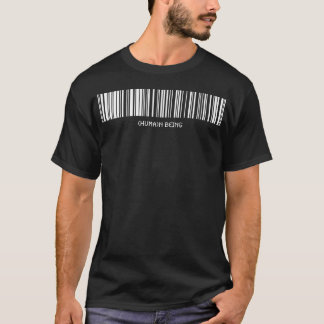 Human Being Barcode T-Shirt