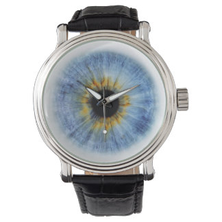 Human blue eyeball, iWatch Watch