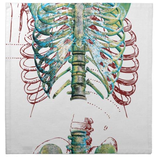 Human Body Rib Cage Napkin