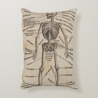Human Bones Decorative Pillow