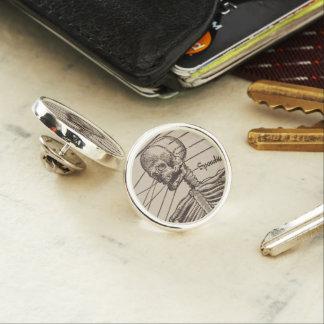 Human Bones Lapel Pin