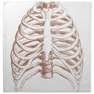 human bones napkin