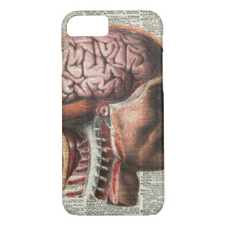 Human Brain Anatomy iPhone 8/7 Case