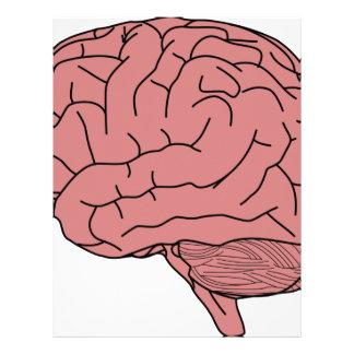 Human brain letterhead