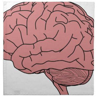 Human brain napkin