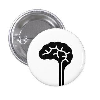 'Human Brain' Pictogram Button