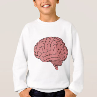 Human brain sweatshirt