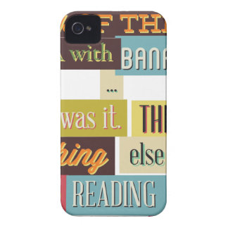 human dna texting design Case-Mate iPhone 4 case