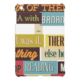 human dna texting design iPad mini cover