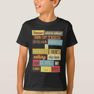 human dna texting design T-Shirt