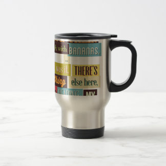 human dna texting design travel mug