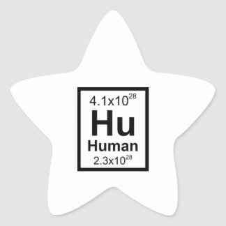 Human Element Star Sticker