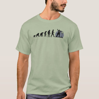 Human evolution: Conductor T-Shirt