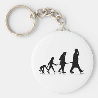 Human Evolution Keychain