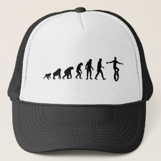 Human Evolution: Mountain Unicycling Hat