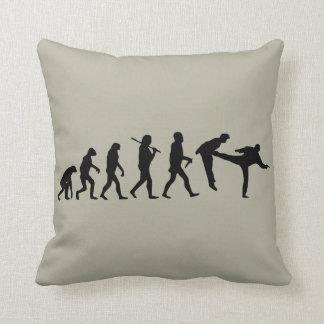 Human Evolution Pillow