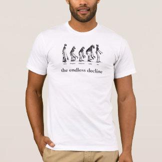 human evolution, the endless decline T-Shirt
