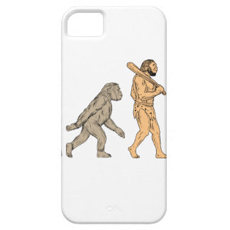 Human Evolution Walking Drawing iPhone 5 Covers