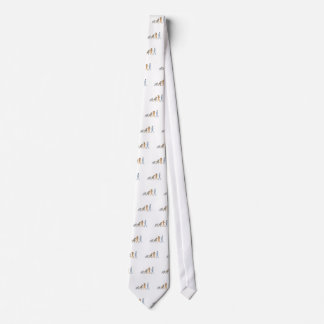 Human Evolution Walking Drawing Tie