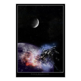 Human Extinction Poster