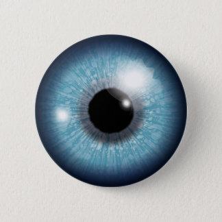 Human Eyeball 2 Inch Round Button