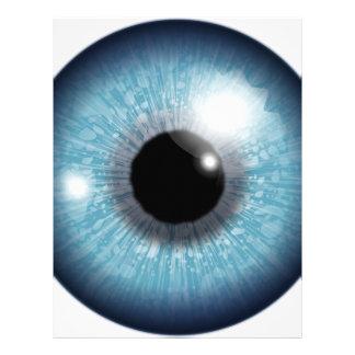 Human Eyeball Letterhead