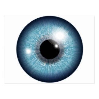 Human Eyeball Postcard