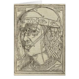 Human Head Card