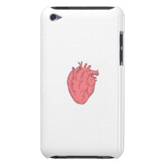 Human Heart Anatomy Drawing iPod Touch Case