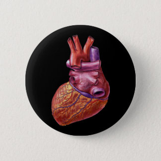 Human heart button