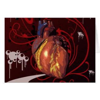 Human Heart Card